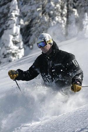 Mikhail Prokhorov: Skiing in Canada