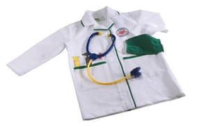 Early Learning Centre doctors outfit with stethoscope