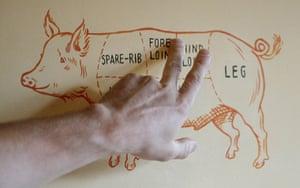 virtual Christmas gift: The Ginger Pig butcher's shop  evening butchery class
