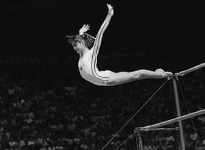 Gymnastics: Olympics Comaneci