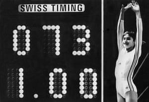Gymnastics2: A picture taken 19 July 1976 sh
