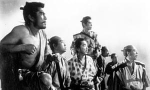 Seven Samurai group