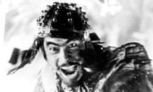 Seven Samurai Toshiro Mifune close up