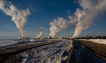 Tar Sands in Alberta, Canada