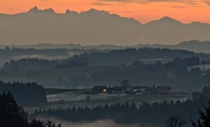 24 hours in pictures: A view of the German Alps in Bayern