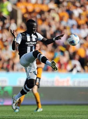 Man Utd targets: Cheick Tioté of Newcastle United