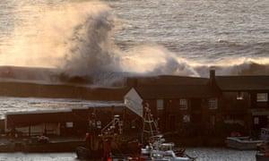 Storms in Lyme Regis