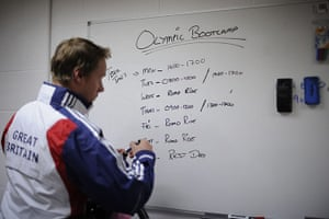 Team Pursuit Boot Camp: Endurance head coach Dan Hunt outlines the squad's itinerary