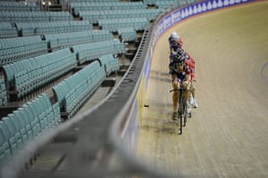 Team Pursuit Boot Camp: Track cycling team pursuit training