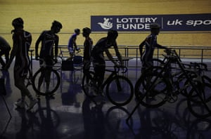 Team Pursuit Boot Camp: Track cycling team pursuit training camp