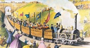 Thomas Cook: An illustration fo Thomas Cook's first excursion in 1841