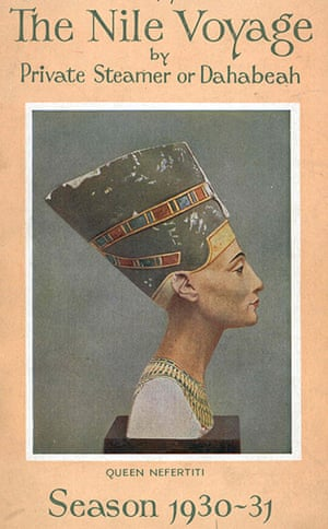 Thomas Cook: A Nile Voyage brochure  cover from 1930