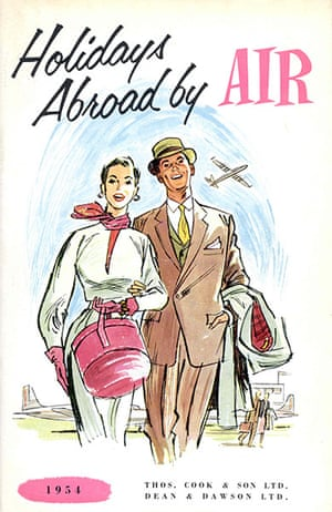 Thomas Cook: Holidays Abroad by Air brochure  from 1954