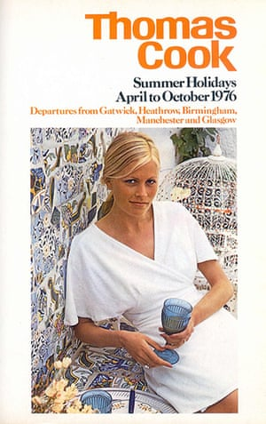Thomas Cook: A Thomas Cook brochure from 1976