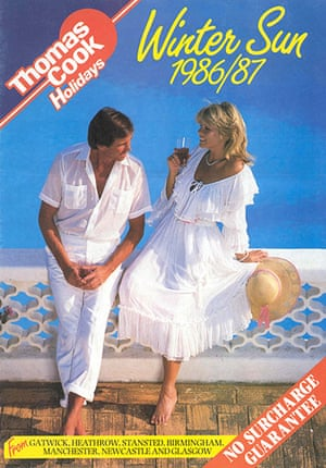 Thomas Cook: A Winter Sun brochure from 1986