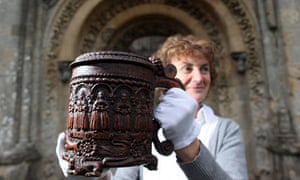 The Glastonbury Grace Cup returns to Glastonbury Abbey for the first time in 125 Years