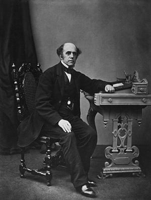 Thomas Cook: English tourist pioneer Thomas Cook (1808 - 1892)