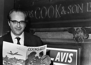 Thomas Cook: Mr Vladimir Raitz, the owner of Horizon Holidays
