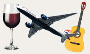 Don't want a drink? Say you're a pilot – or worse, that you play guitar?