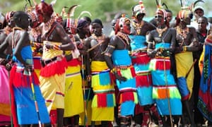 The pastoralist Samburu people