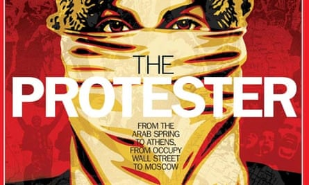 Time magazine's 'The Protester' cover