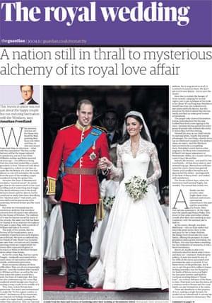 April 29 Royal Wedding