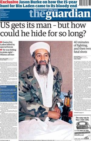 May 1 Osama frontpage