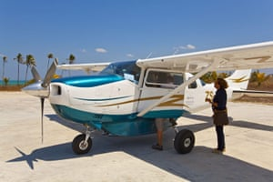 Mozambique dhow trip: flight to Pemba Island
