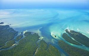 Mozambique dhow trip:  Qurimbas archipelago