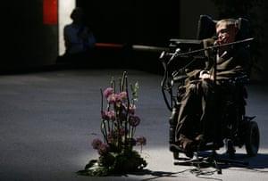 Year in Science: British physicist Stephen Hawking
