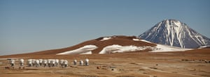 Year in Science: Radio telescope antennas of the ALMA ( A
