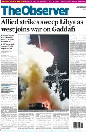 March 19 airstrikes Libya
