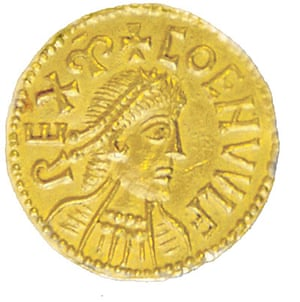 Banknote Designs: Anglo-Saxon gold coin
