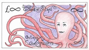 Banknote Designs: Banknote design by Audrey Niffenegger