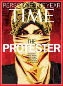 Time protester