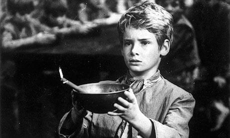 Mark Lester as Oliver Twist in the film 'Oliver'