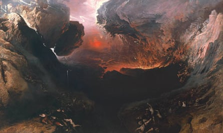 Detail from The Great Day of His Wrath, 1851-3, by John Martin.