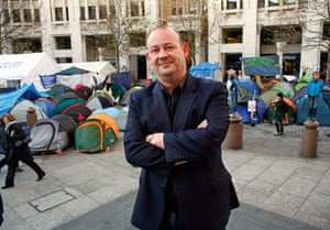 Faces of the year: Canon Giles Fraser at St Paul's Cathedral,