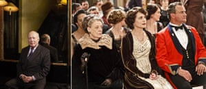 Faces of the year: Julian Fellowes and Downton Abbey