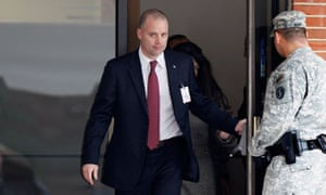 David Coombs, attorney for Bradley Manning at the pre-trial hearing at Fort Meade