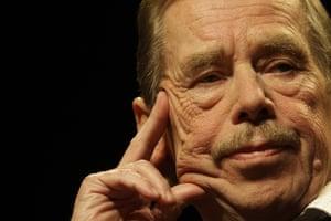 Vaclav Havel: 2009: Former Czech President Vaclav Havel in Prague