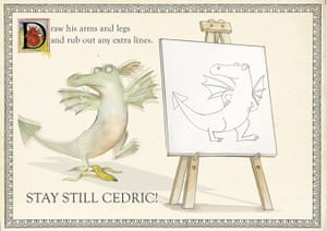 How To Draw Dragons: How To Draw Dragons by Emily Gravett 7