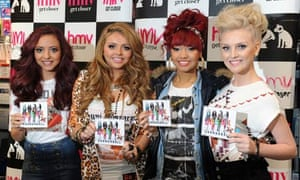 X Factor winners Little Mix with their debut single Cannonball