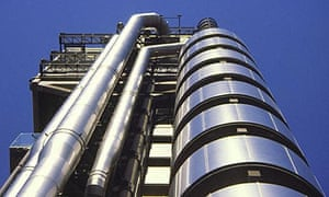The Lloyds building in London