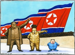 19.12.11: Steve Bell on Kim Jong-il's death