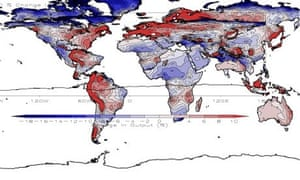 Solar pv change due to climate change