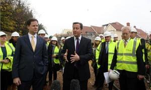 Cameron Clegg housing strategy