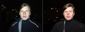 iPhone vs Canon: flash
