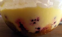 Good Food magazine recipe berry trifle
