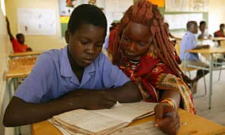 namibia language crisis